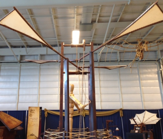 leonardo flying machine copy